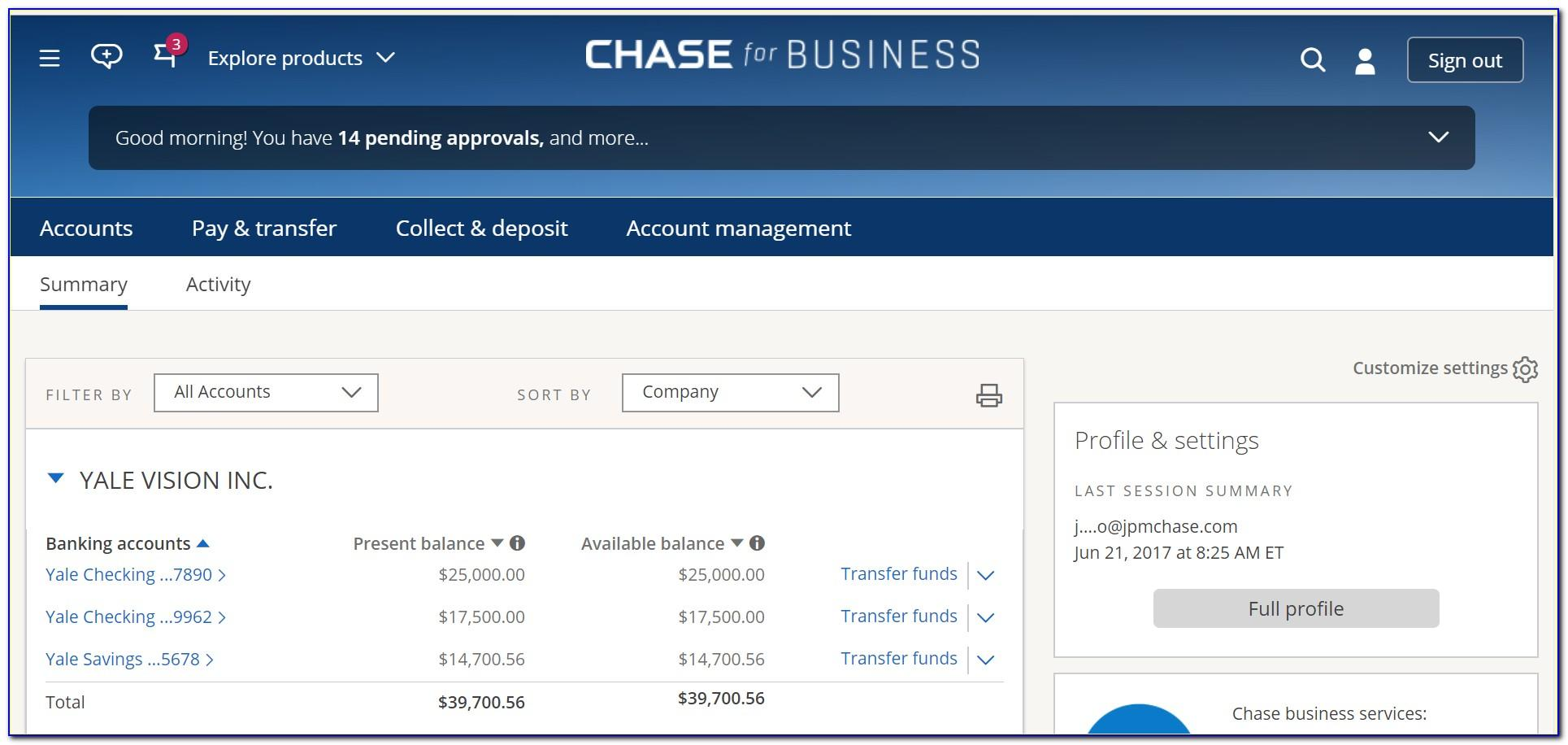 Chase Business Credit Card Login