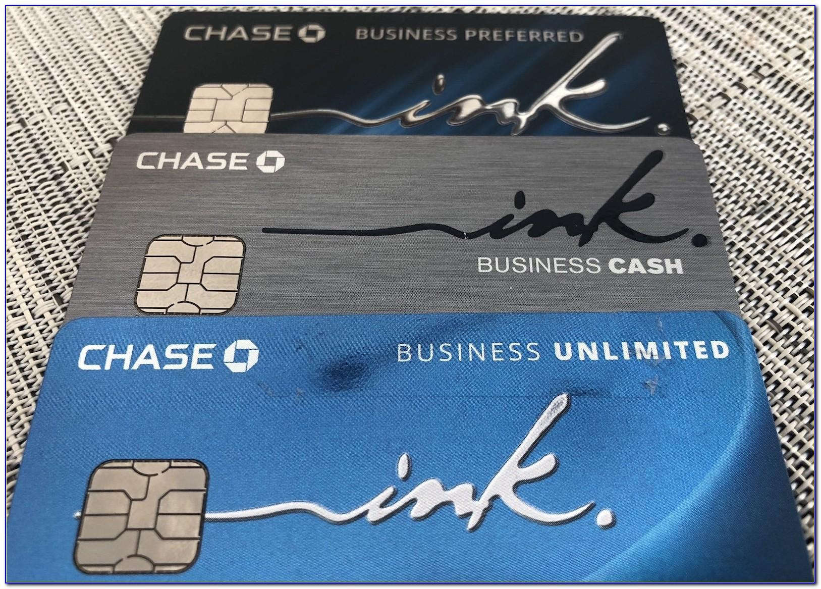 Chase Ink Business Card Login