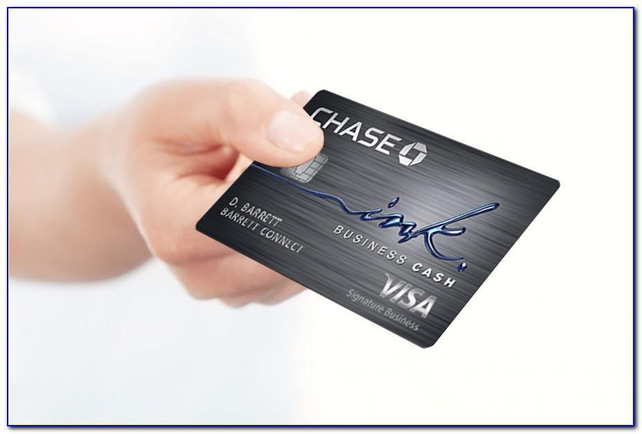 Chase Ink Business Card Sign In