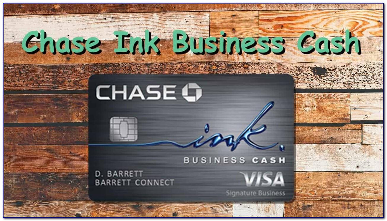 Chase Ink Business Cash Card $500 Bonus Cash Back