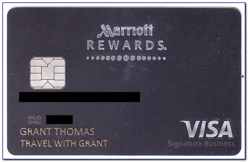 Chase Marriott Business Card Review