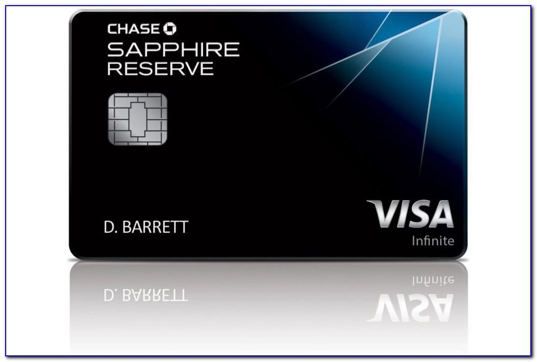 Chase Sapphire Reserve Business Credit Card