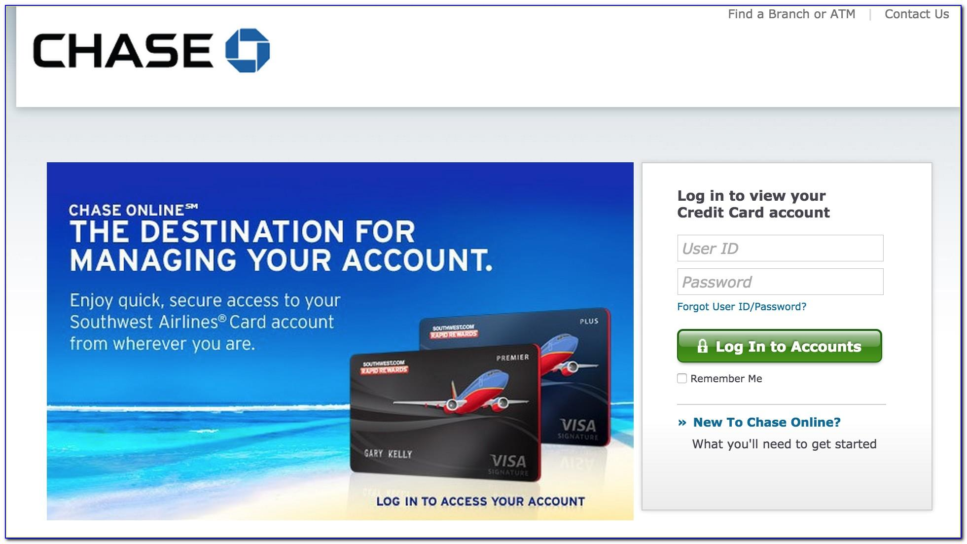 Chase Southwest Business Card Login