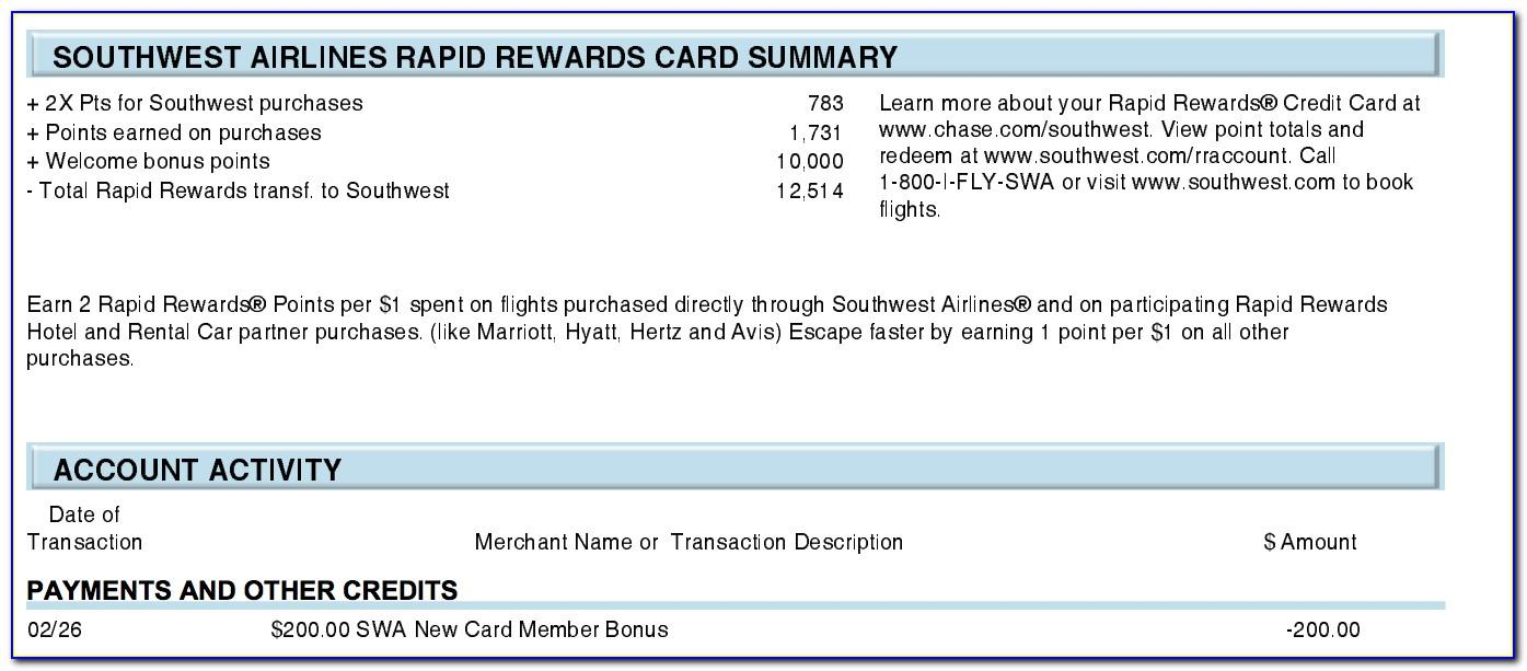 Chase Southwest Business Card Reconsideration Line