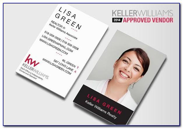 Cheap Keller Williams Business Cards