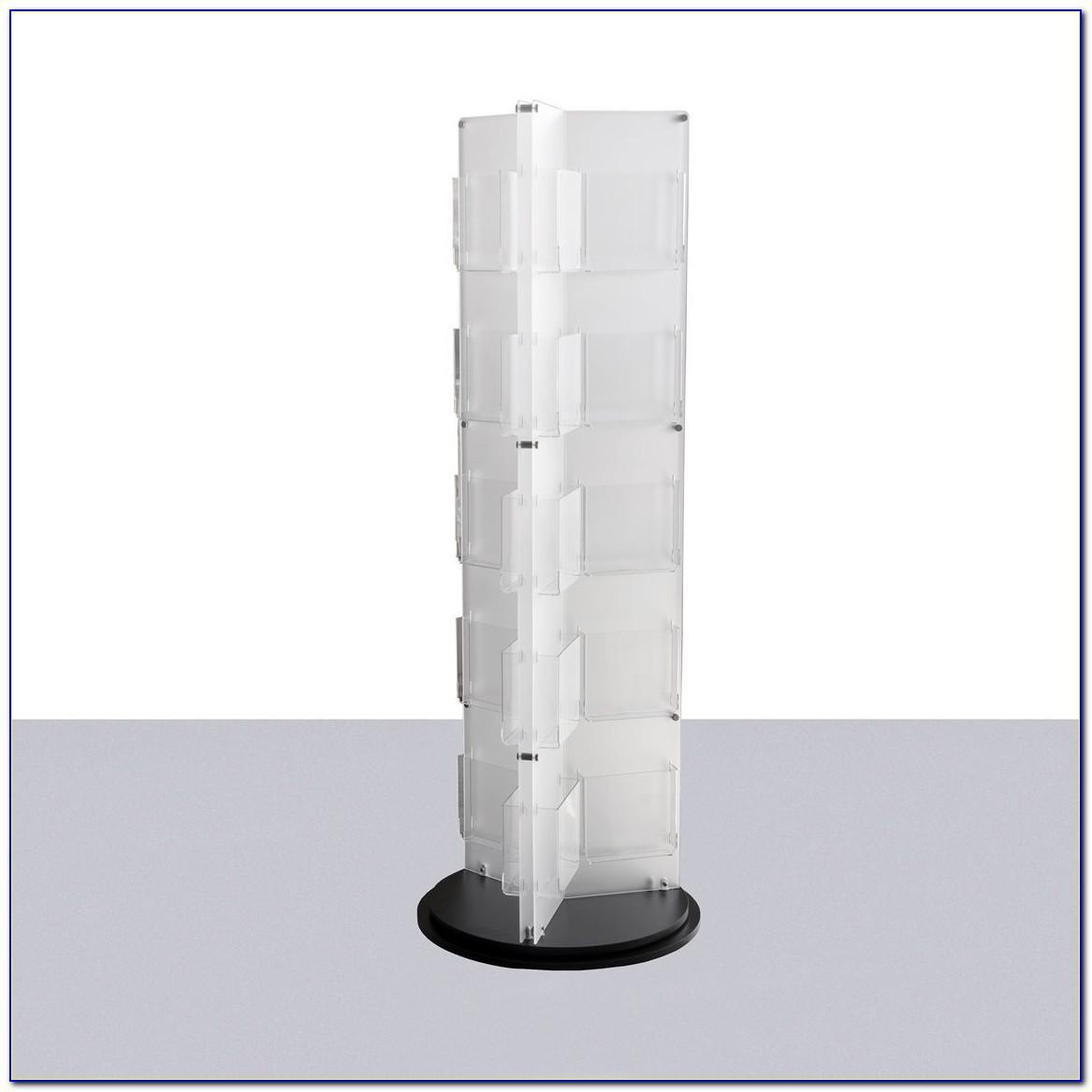 Clear Acrylic Slatwall Brochure Holders