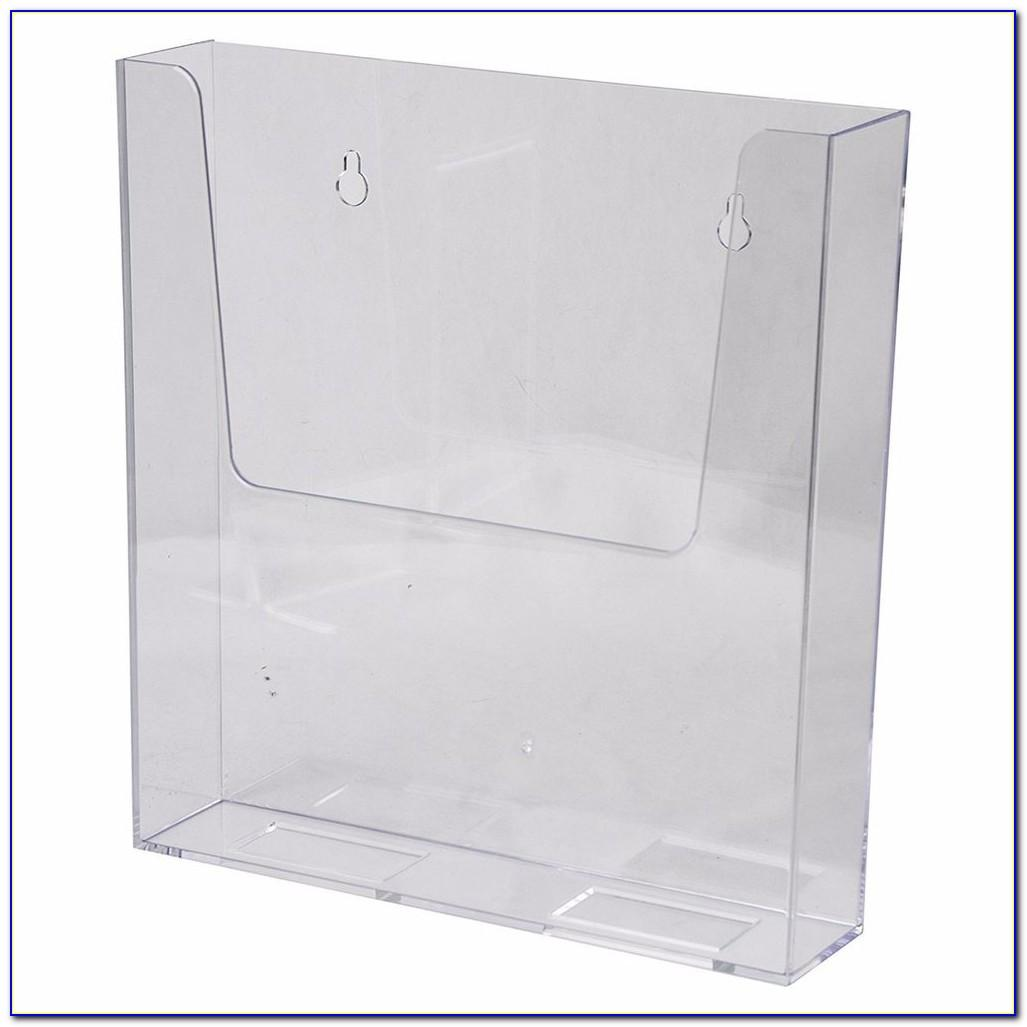 Clear Brochure Rack