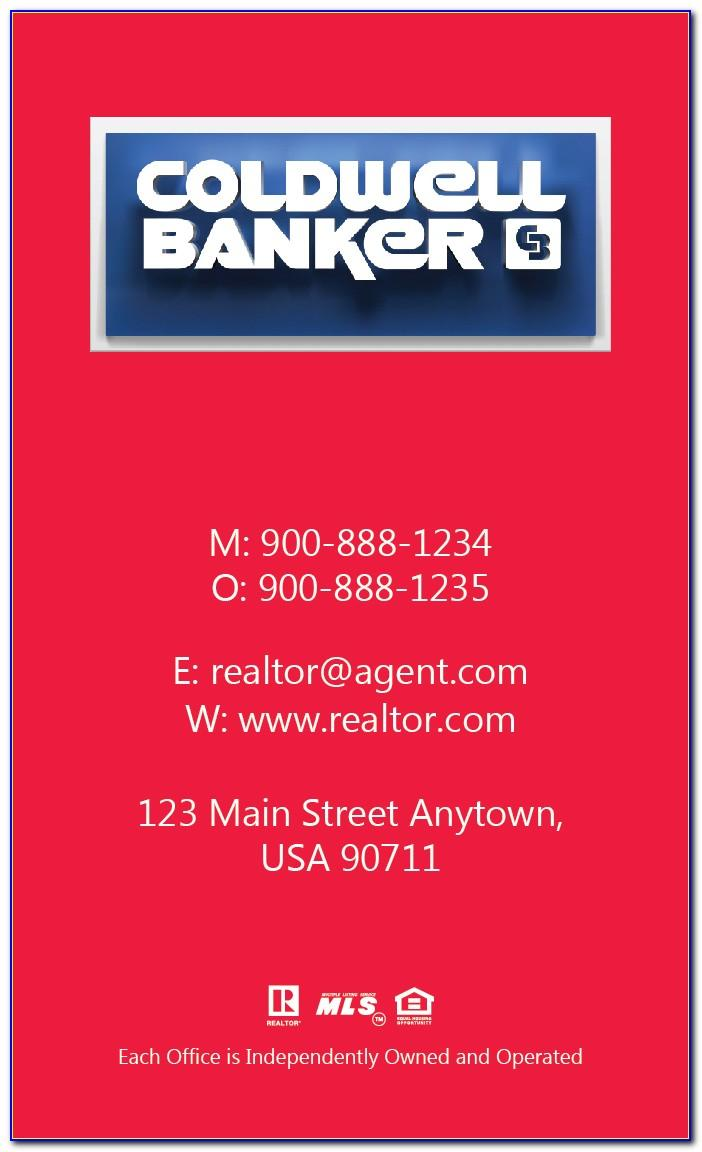 Coldwell Banker Bain Business Cards