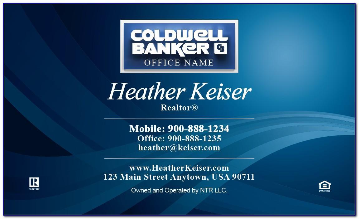 Coldwell Banker Business Card Holder