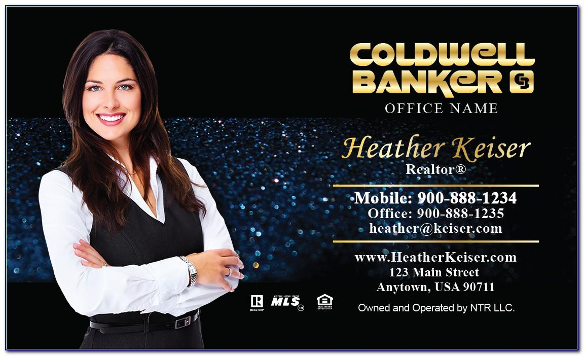 Coldwell Banker Business Cards Template