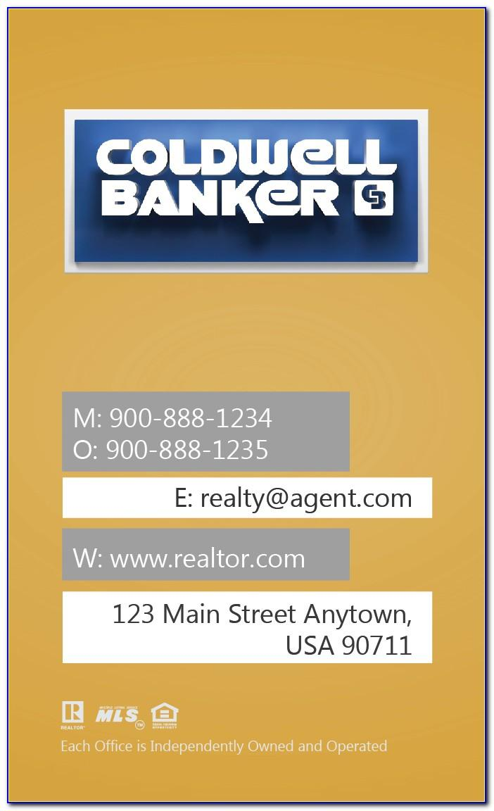 Coldwell Banker Luxury Business Cards