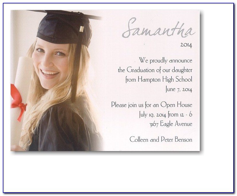 College Graduation Invitation Ideas Pinterest