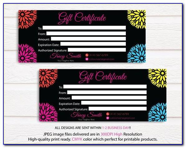 Color Street Business Card Designs