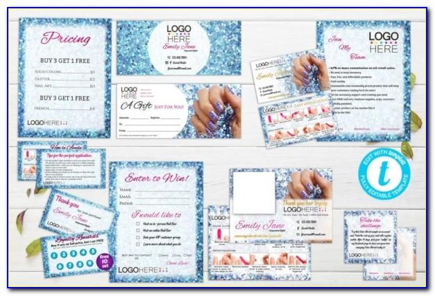 Color Street Business Card Graphics