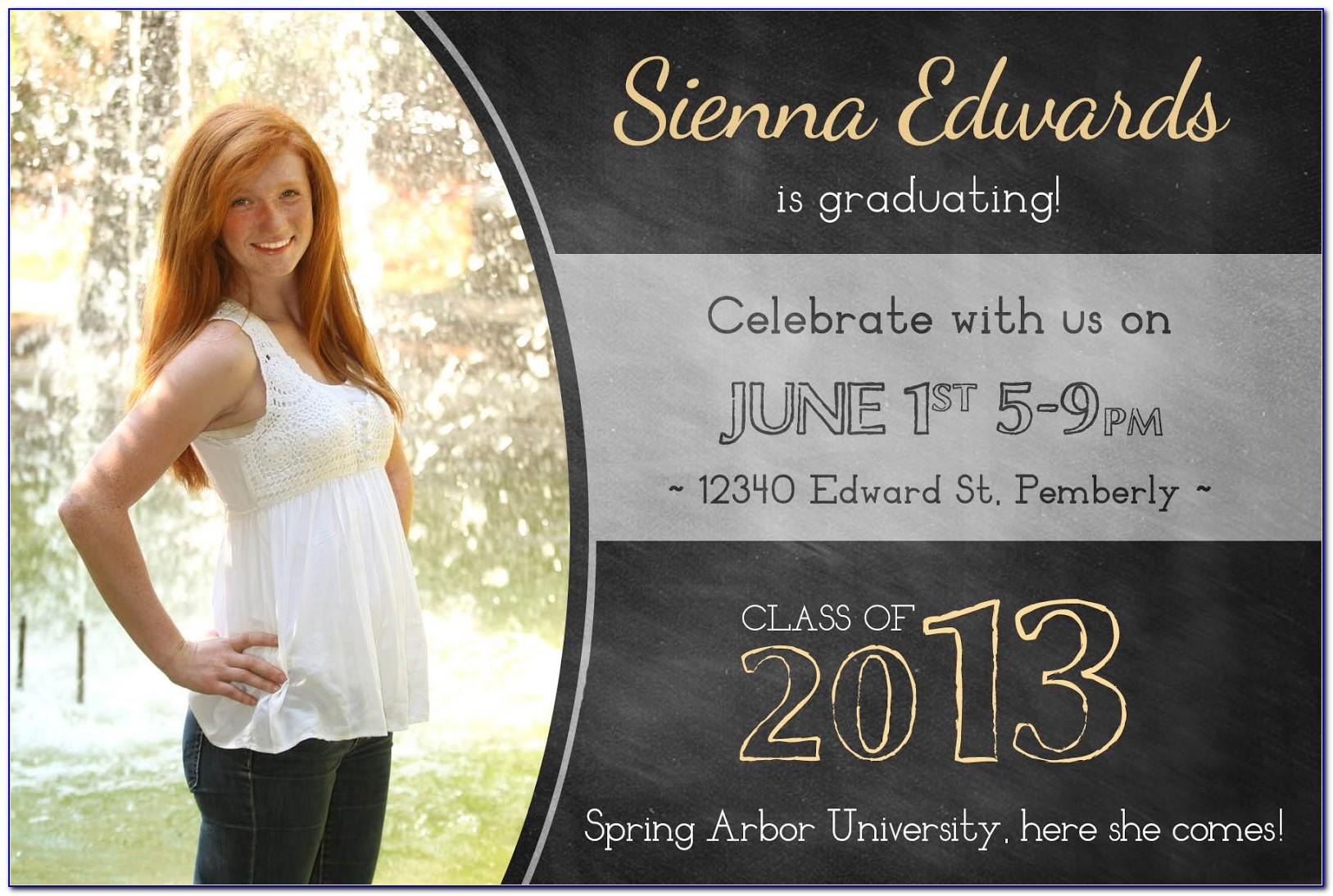 Columbia University Graduation Announcements