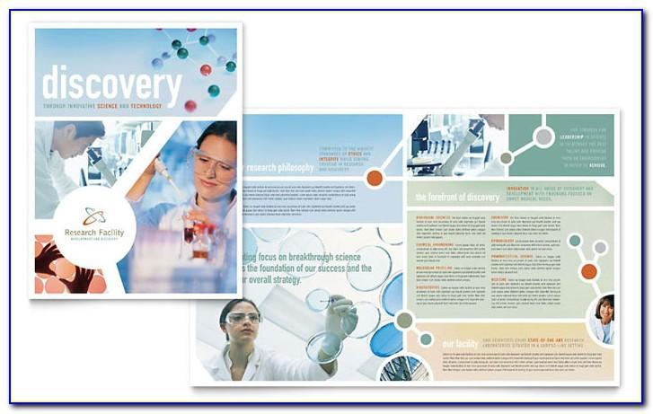 Computer Science Brochure Templates