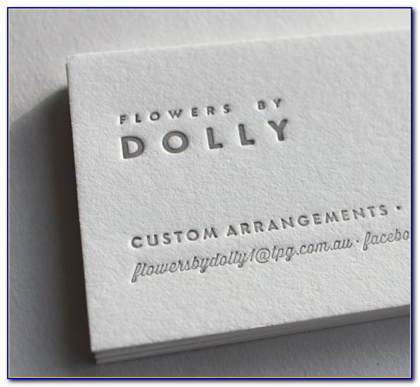 Cotton Business Cards Australia