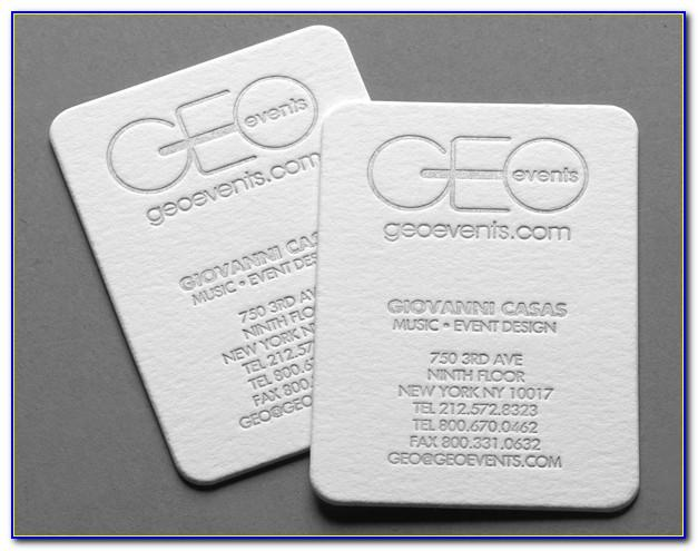 Cotton Business Cards India