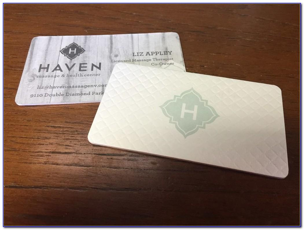 Cotton Business Cards Moo