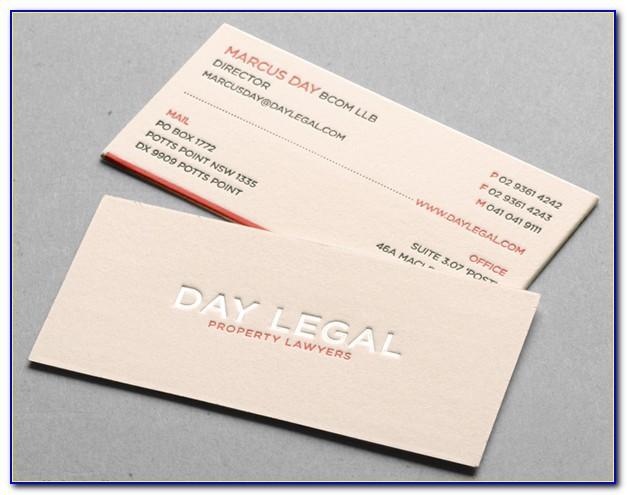 Cotton Business Cards Paper