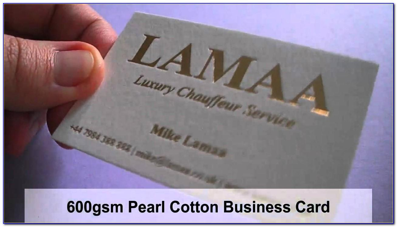 Cotton Business Cards Review