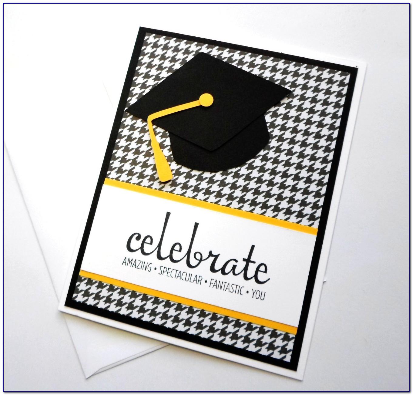 Cricut Graduation Invitation Templates