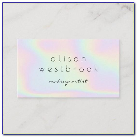 Custom Holographic Business Cards