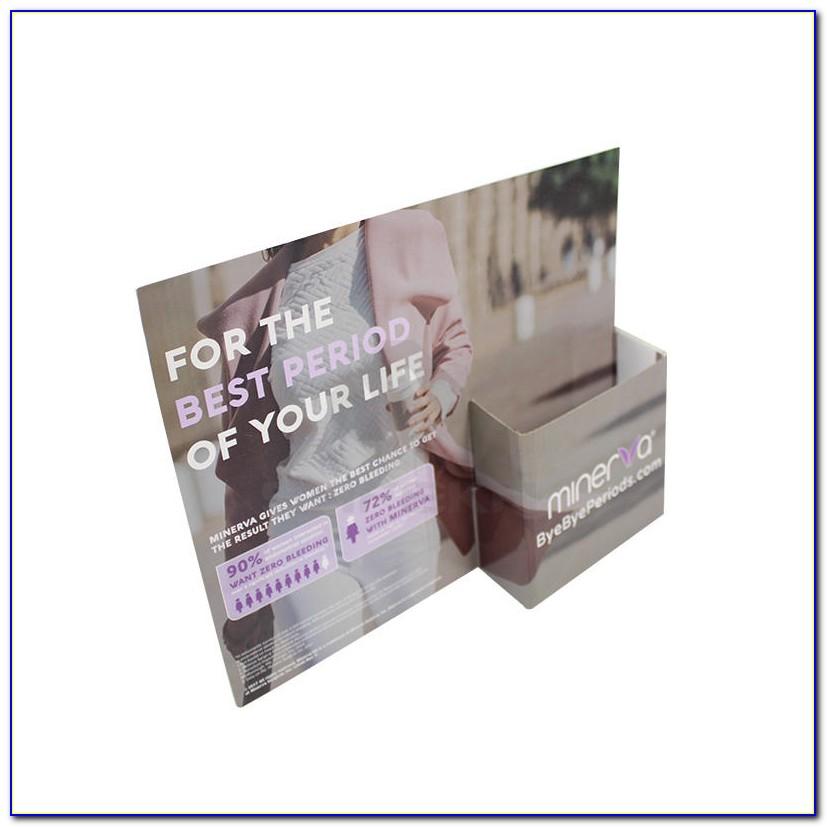 Custom Printed Cardboard Brochure Holders