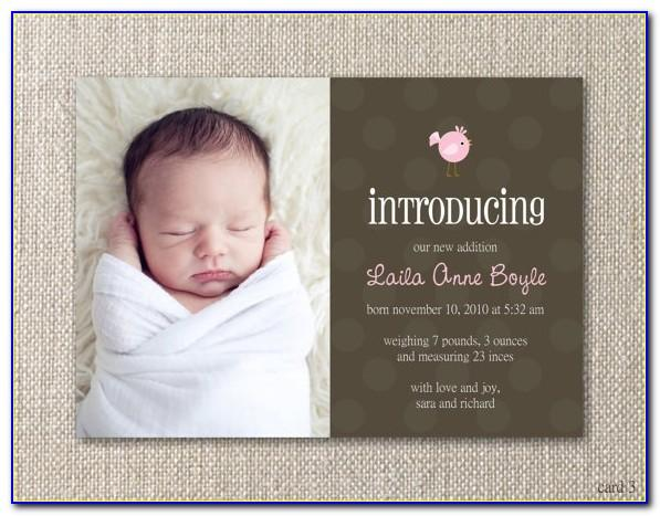 Cute Baby Birth Announcement Quotes