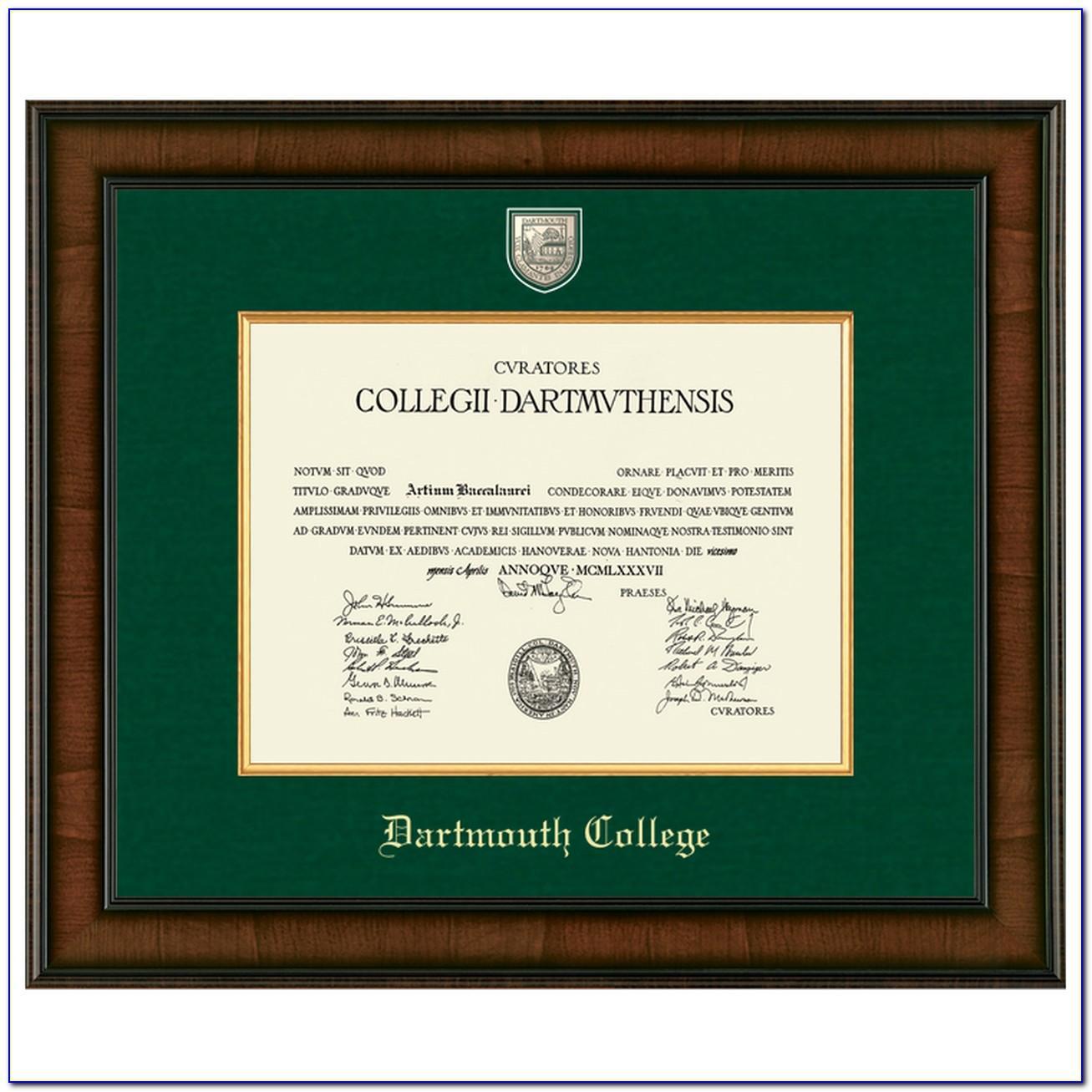 Dartmouth Graduation Announcements