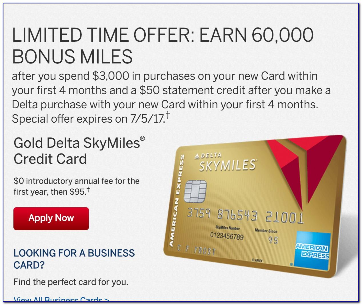 Delta Business Card American Express