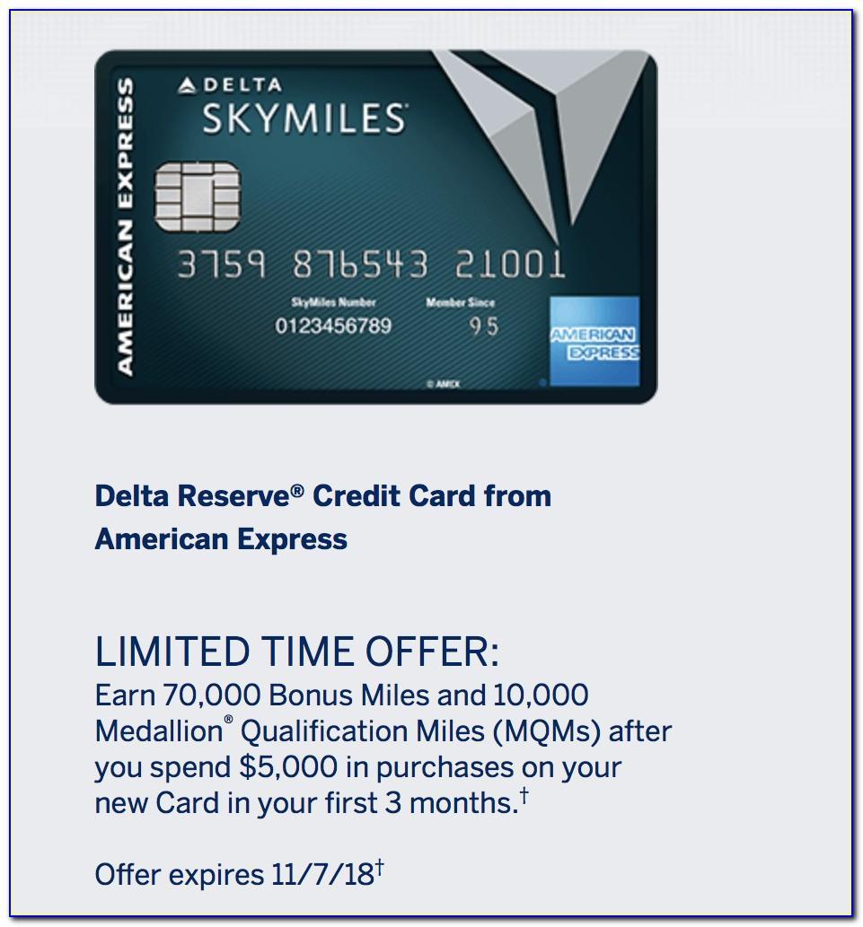 Delta Skymiles Reserve Business Card