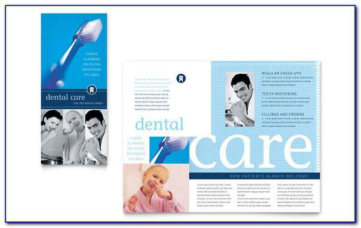Dental Brochure Template Word