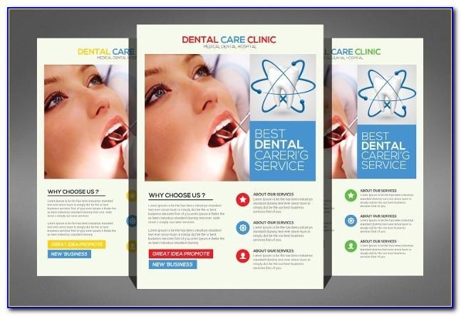 Dental Clinic Brochure Template