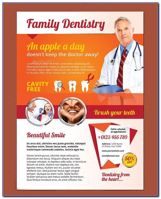 Dental Office Brochure Template