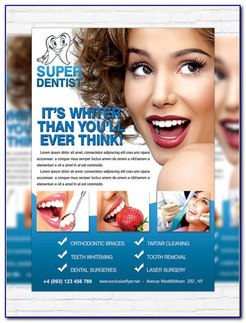 Dental Tri Fold Brochure Template