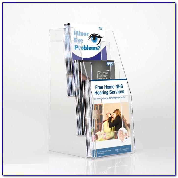 Desktop Brochure Display Holder