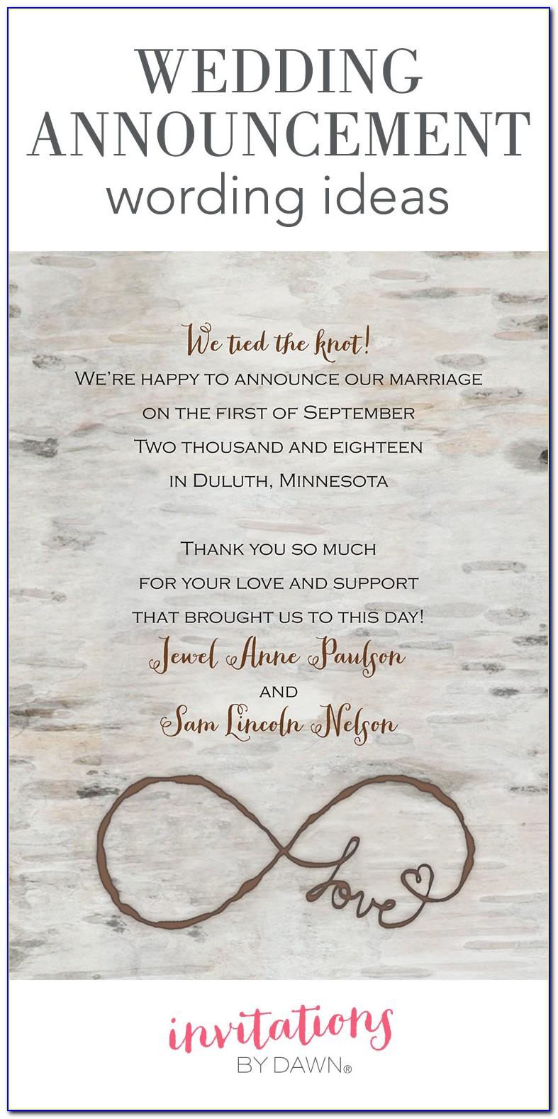 Destination Wedding Invitations Wording