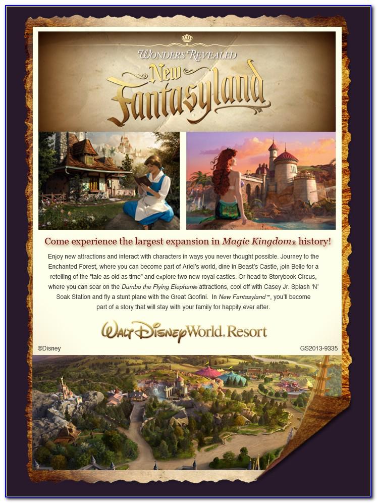 Disney World Brochure Request
