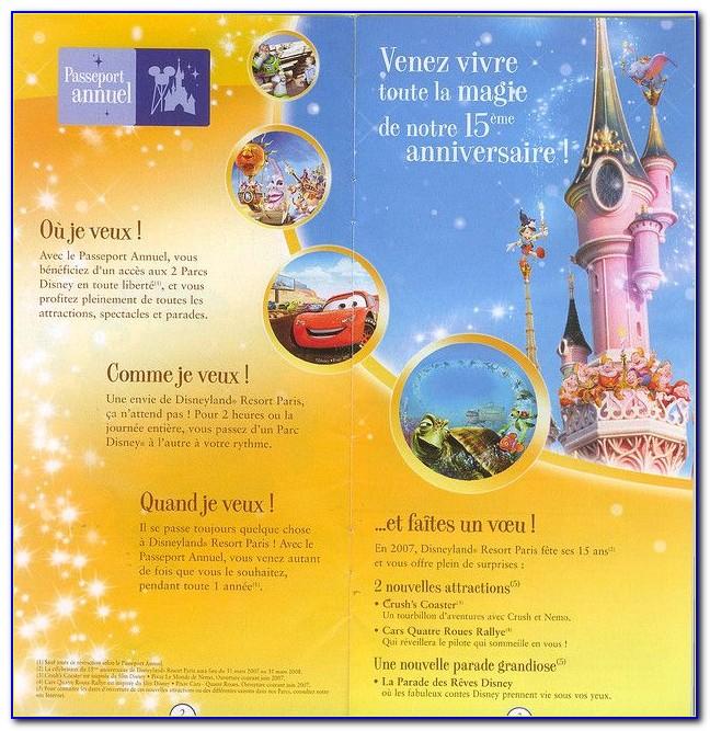 Disney World Brochure Usa