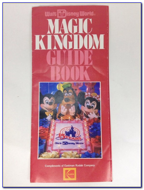 Disney World Brochures Printable