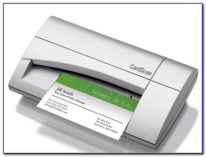 Dymo Cardscan V9 Executive Business Card Scanner And Contact