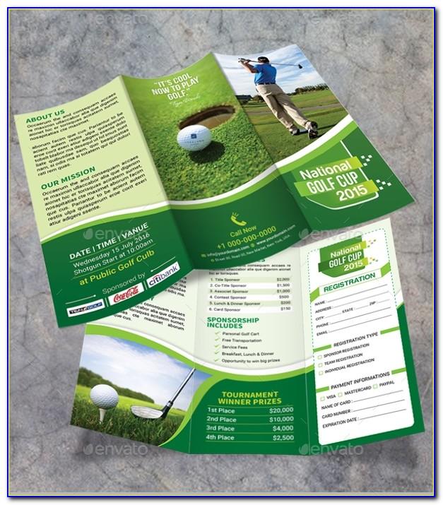 Editable Golf Tournament Flyer Template Free