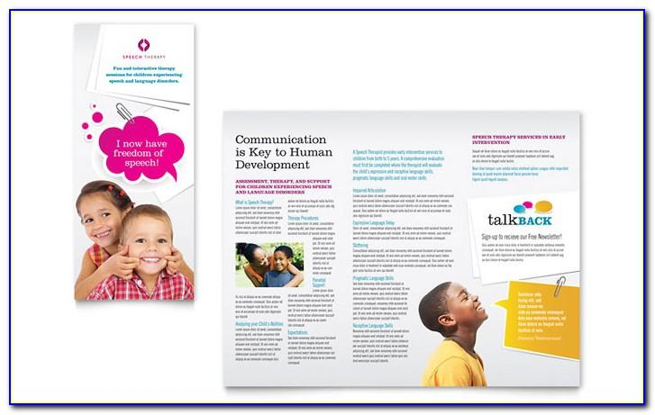 Education Brochure Templates For Word