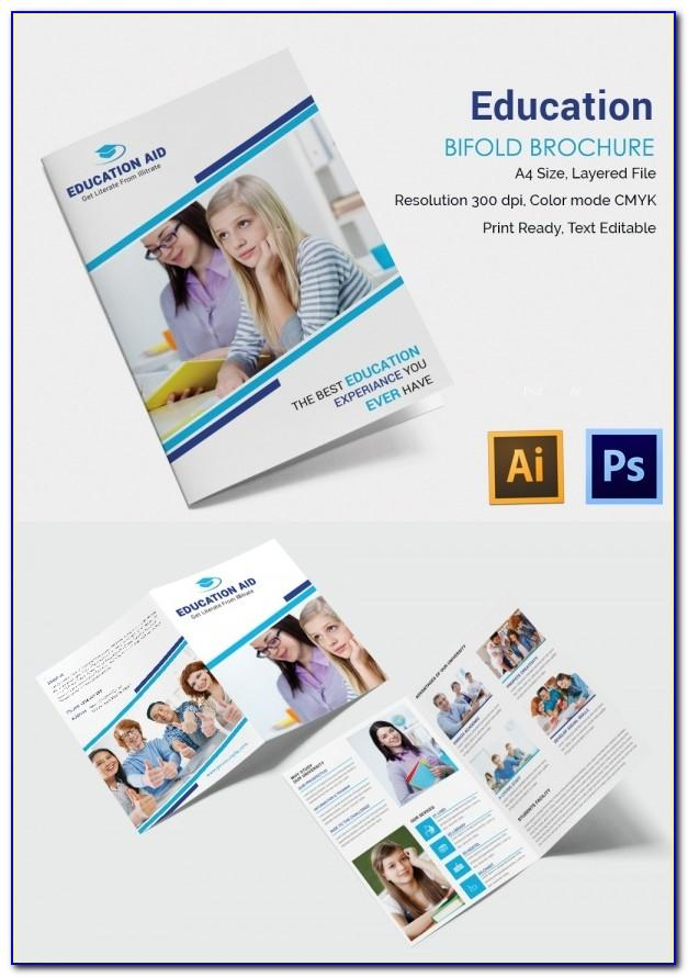 Education Brochure Templates Psd Free Download