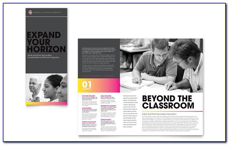 Education Tri Fold Brochure Templates