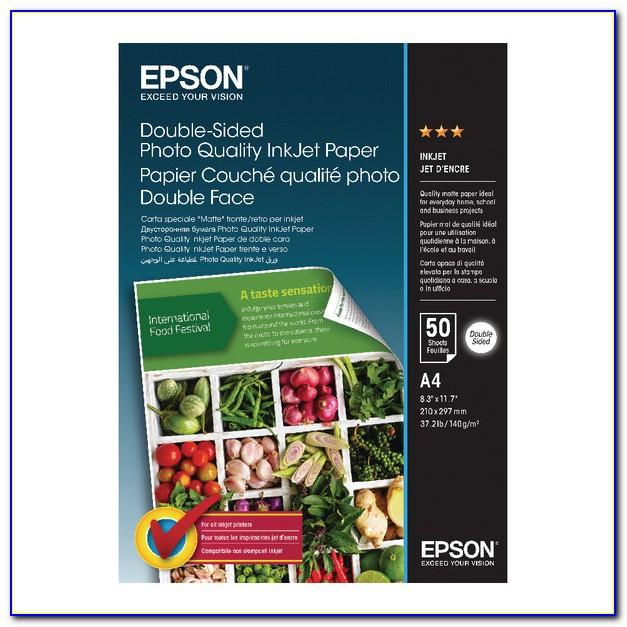 Epson Brochure And Flyer Paper Heavyweight Matte Paper 150 Sheets