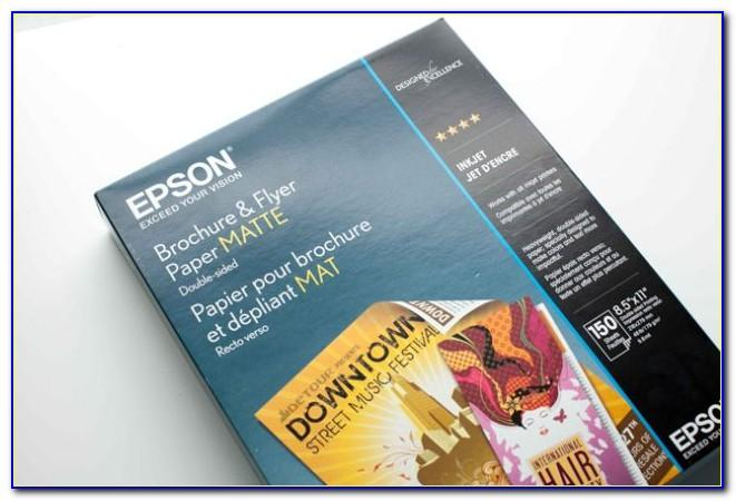 Epson Brochure And Flyer Paper Matte