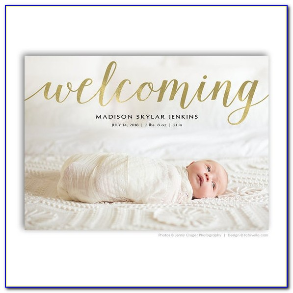 Etsy Baby Birth Announcements
