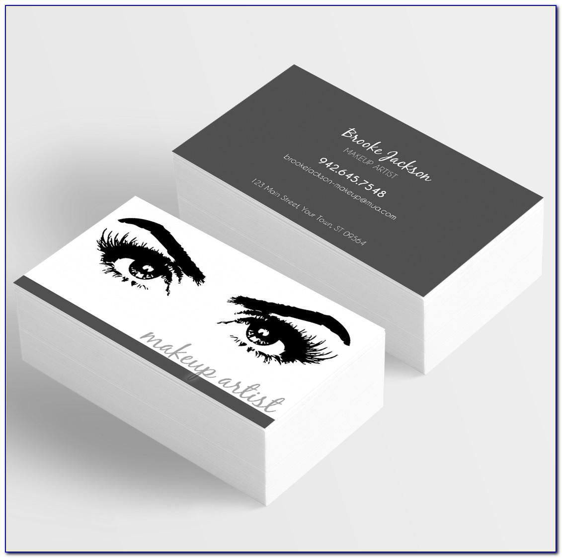Eyelash Business Cards Examples
